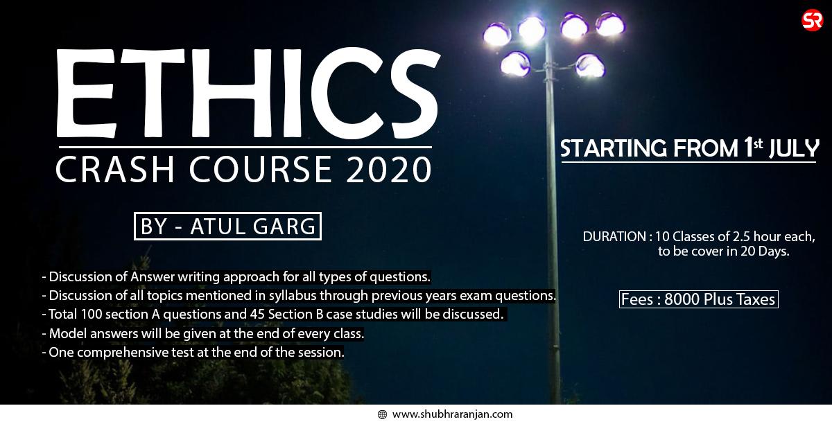 Ethics Crash Course